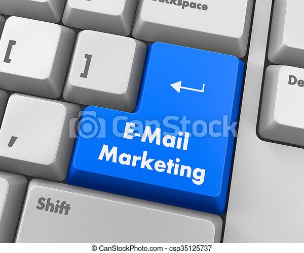 e-mail marketing - csp35125737