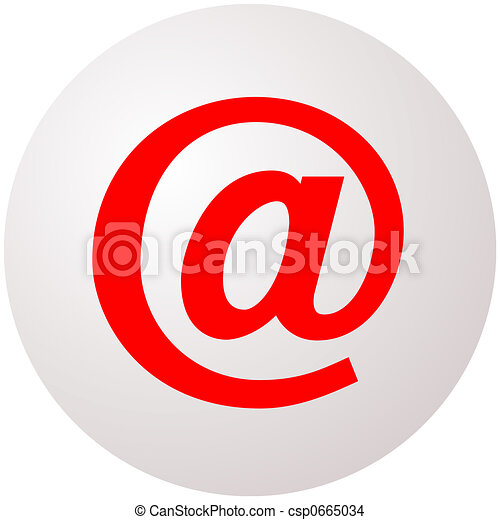 E-mail sphere - csp0665034