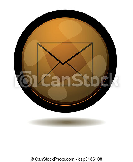 E-mail web button - csp5186108
