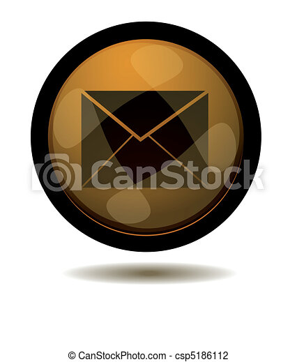 E-mail web button - csp5186112