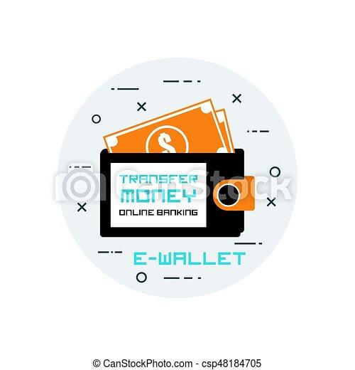 E-wallet - csp48184705