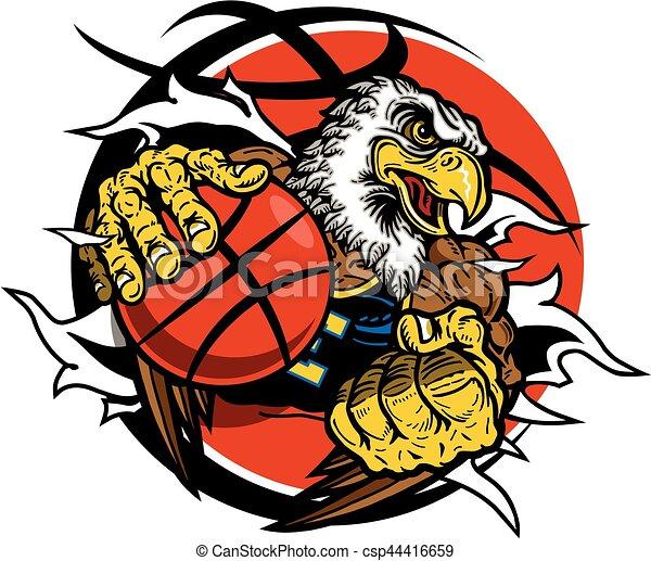eagle basketball - csp44416659