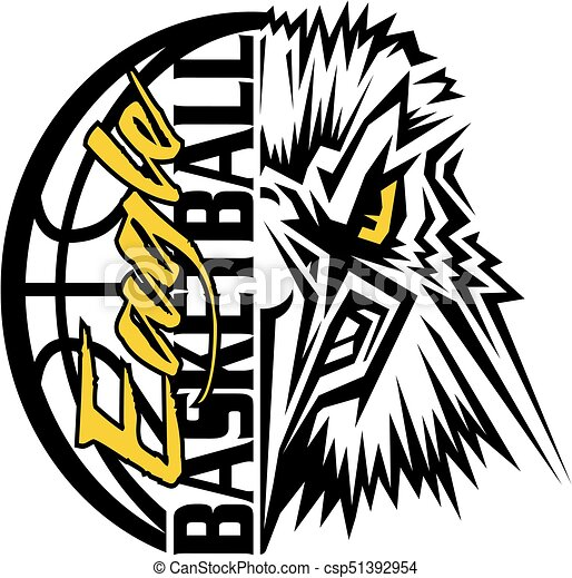 eagle basketball - csp51392954