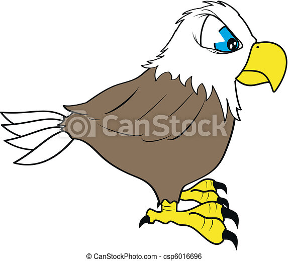 eagle cartoon in vector format clip art vector search drawings and rh canstockphoto com  cartoon eagle clipart black and white