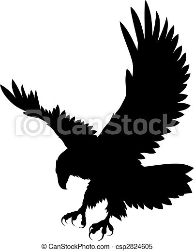 eagle stock illustrations 27 426 eagle clip art images and royalty rh canstockphoto com eagle clipart with banner soar on wings eagle clip art images