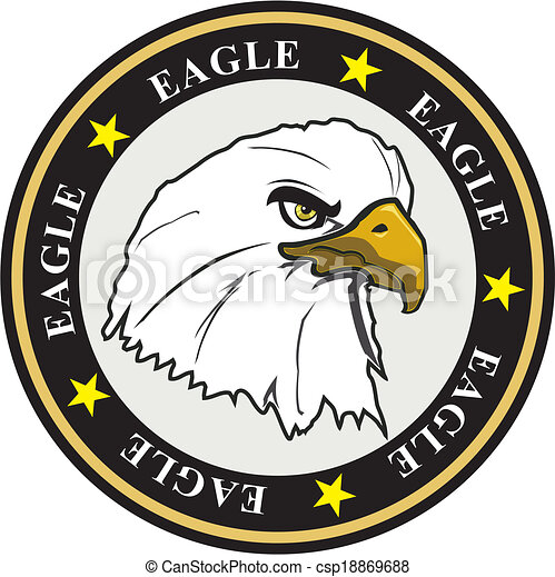 eagle coat of arms - csp18869688