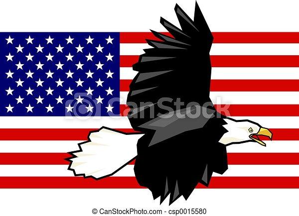 Eagle Flag - csp0015580