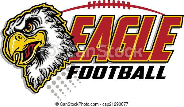 eagle football design - csp21290677