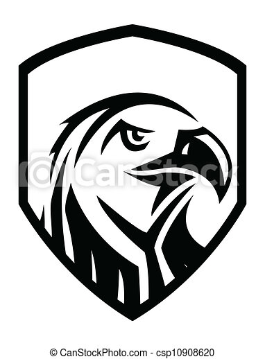 eagle head vector illustration search clipart drawings and eps rh canstockphoto com eagle head clipart free eagle head clipart black and white