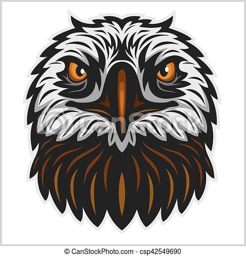 Eagle head mascot - csp42549690