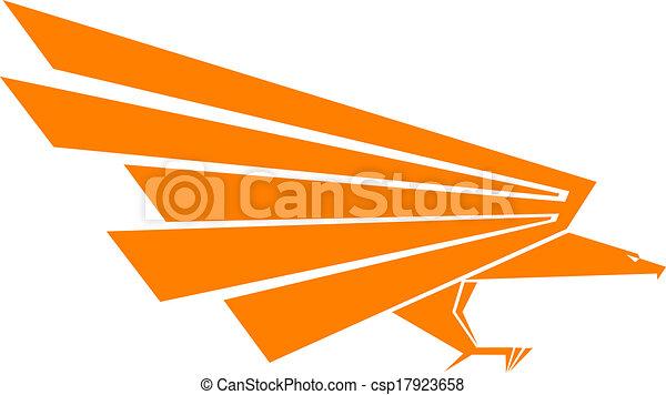 Eagle mascot - csp17923658