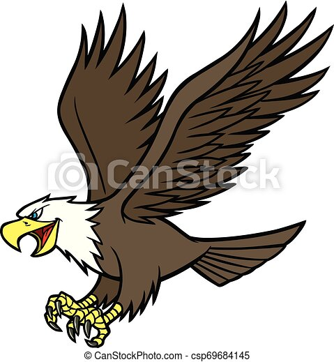 Eagle Mascot - csp69684145