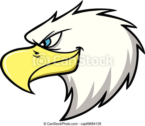 Eagle Mascot Head - csp69684139