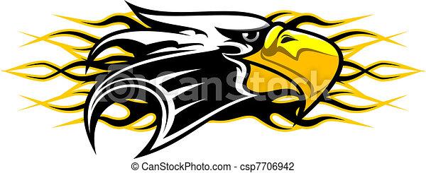 Eagle mascot - csp7706942