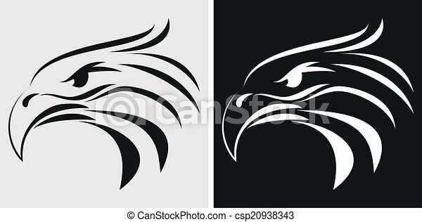 Eagle mascot or symbol - csp20938343