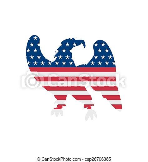 Illustration Eagle Symbol National Pride America For Independence