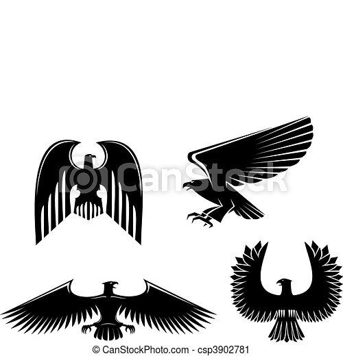 Eagle symbol - csp3902781