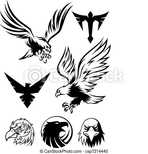 Eagle Symbol - csp7214440