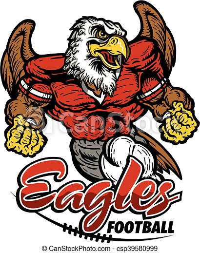 eagles football - csp39580999