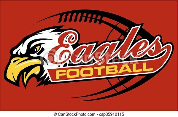 eagles football  - csp35910115