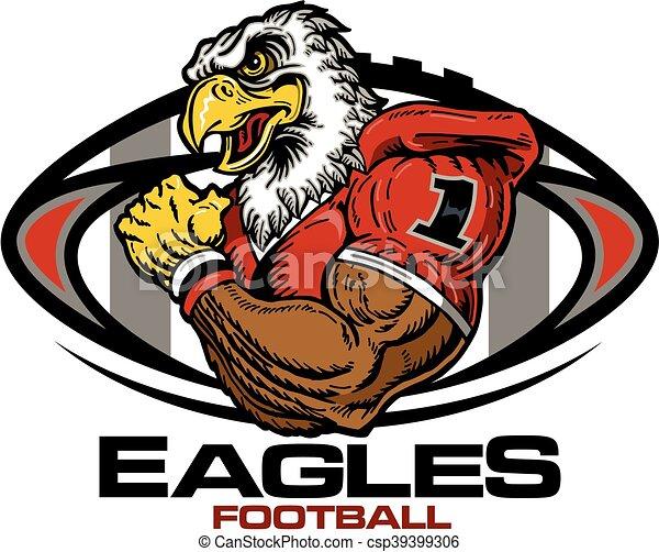 eagles football - csp39399306