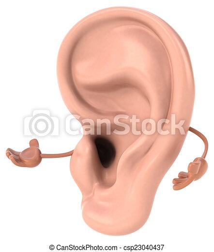 Ear - csp23040437