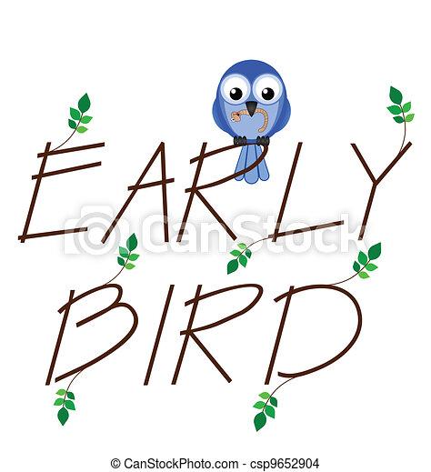 Early bird  - csp9652904