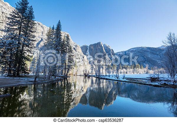 Early spring in Yosemite - csp63536287