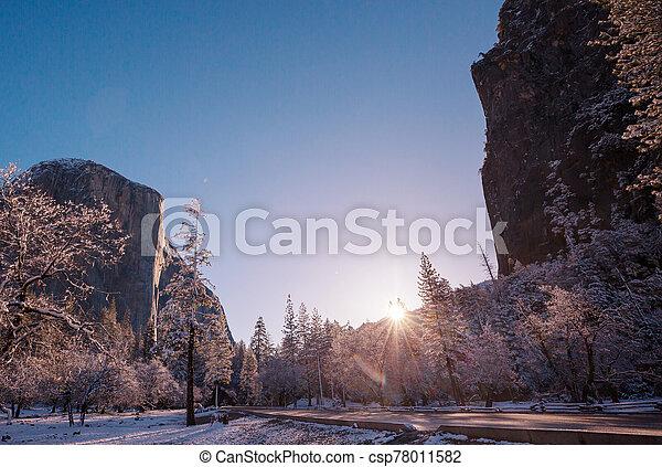 Early spring in Yosemite - csp78011582