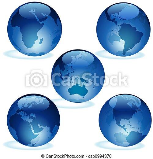 Earth Aqua Set - csp0994370