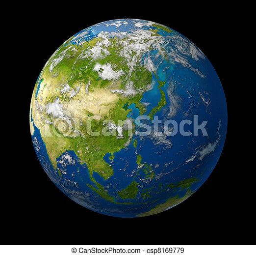 Earth Asia - csp8169779