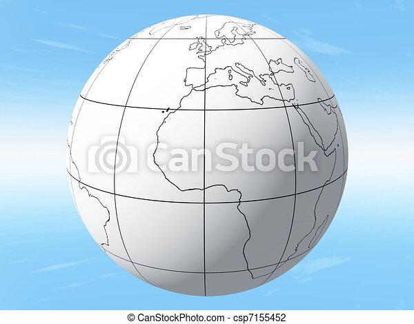 Earth - csp7155452