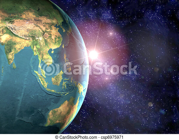 earth  - csp6975971