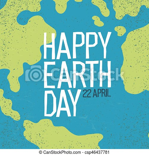 Earth day 22 april postcard design creative design vector world map vector earth day 22 april postcard design creative design poster for earth day gumiabroncs Choice Image