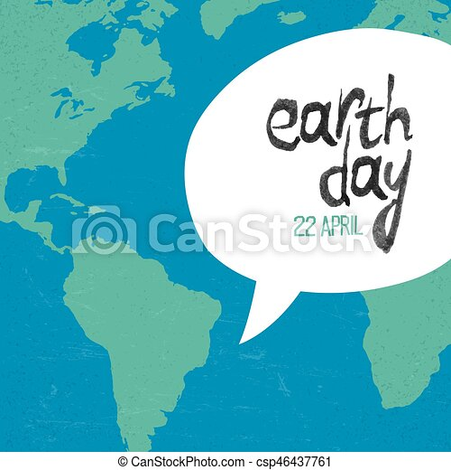 Earth Day 22 April Poster Template Creative Design For Earth Day