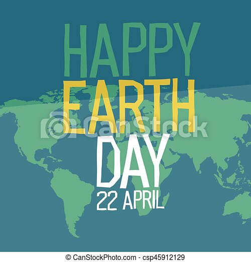 Earth day poster design in flat style 22 april holiday card earth day poster design in flat style 22 april holiday card similar world map background vector illustration save the planet concept gumiabroncs Image collections
