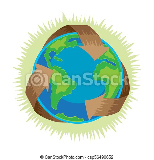 Compsnstockphotoearth Day Recycle Symbol A
