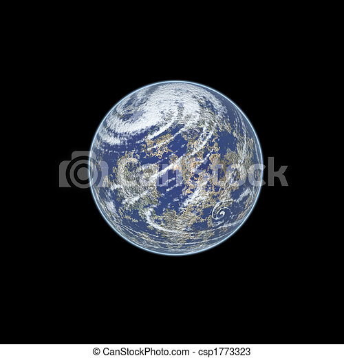 Earth from space - csp1773323