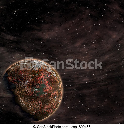 Earth from space - csp1800458