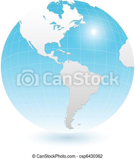 Earth globe - csp6430362