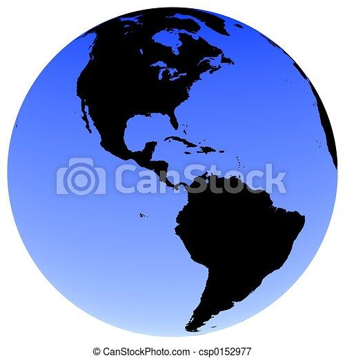 Earth Globe - csp0152977
