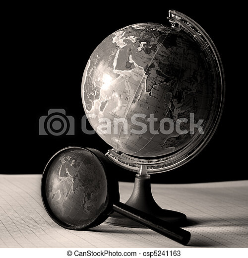 earth globe - csp5241163