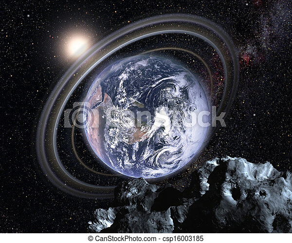 Earth in a parallel universe - csp16003185