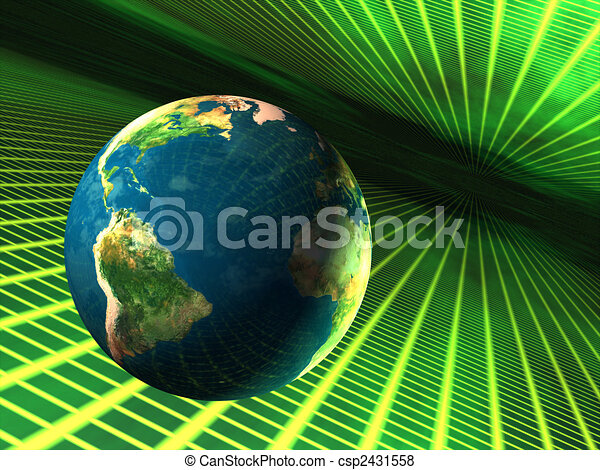 Earth in cyberspace - csp2431558