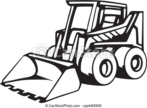 Earth moving vehicles.