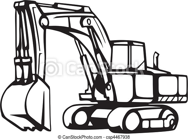 earth moving vehicles vector search clip art illustration rh canstockphoto com clip art of vehicle free clipart of vehicles