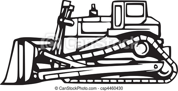earth moving vehicles vector clipart search illustration drawings rh canstockphoto com bulldozer clipart png animated bulldozer clipart