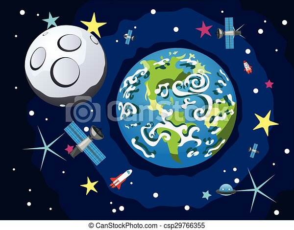 Earth Planet - csp29766355