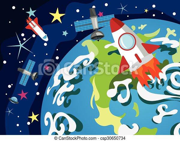 Earth Planet - csp30650734