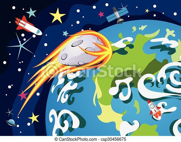 Earth Planet - csp30456675